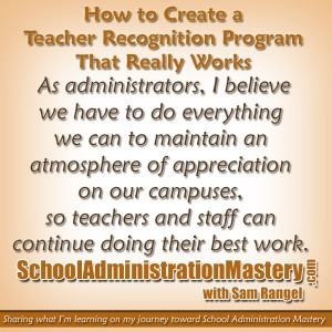 How to Create a Teacher Recognition Program that Really Works